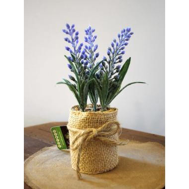 Цветы искусственные декор. в горшке